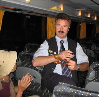 060710カートレインにてバスドライバー
