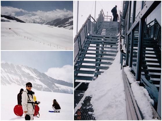 040710ユングフラウヨッホ・雪原と階段