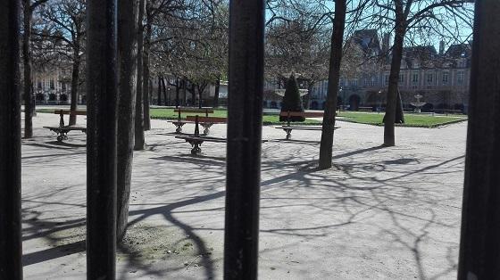 パリ、ヴォージュ広場