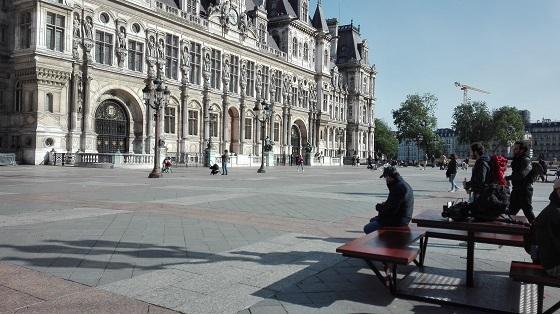 パリ、ロックダウン解除