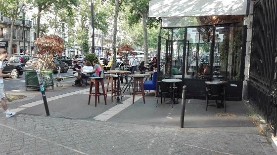 パリ、レストラン&カフェ再開