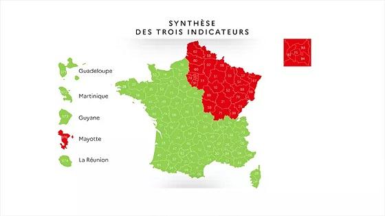 隔離解除後のフランス、パリ