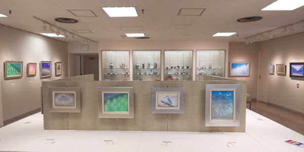 本多翔日本画展