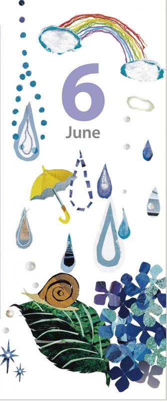 6月カケラカレンダー