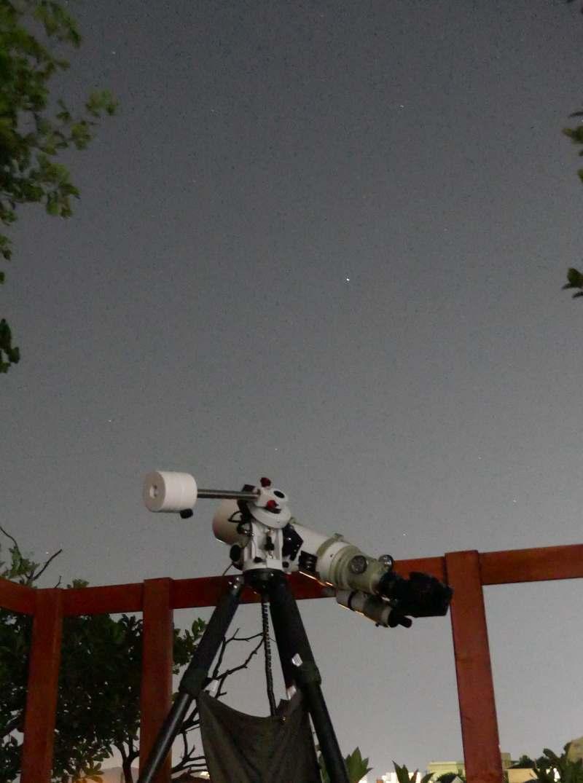 星見台ウッドデッキ2020年6月晴れ間