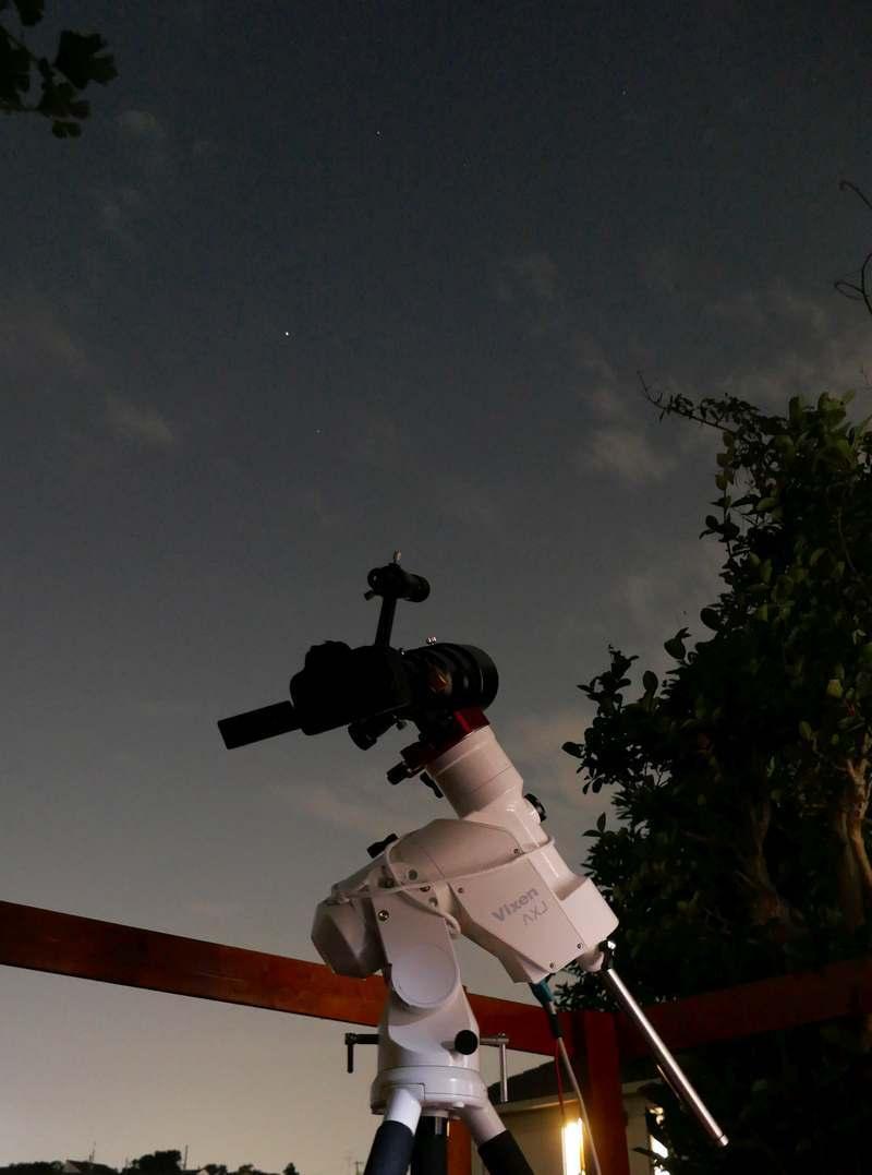ネオワイズ彗星を狙う2020年7月31日