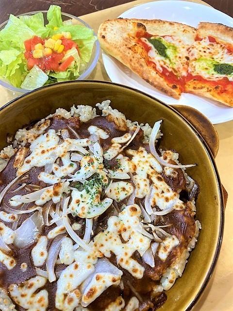 ピザハット Express 鶴岡S-MALL店 焼きチーズカレー