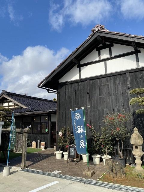 土蔵cafe FUJINOYA 外観