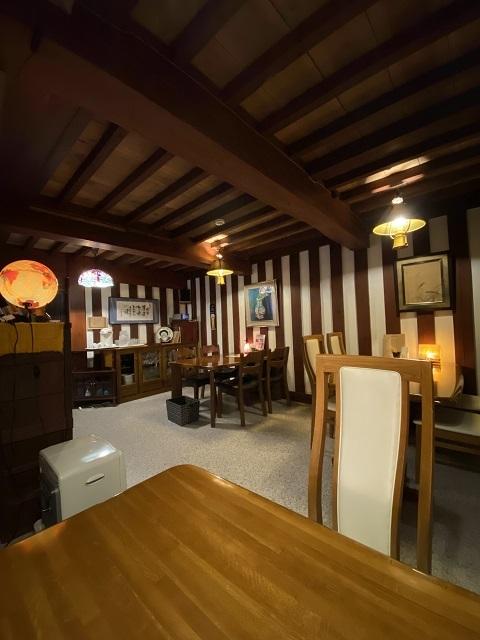 土蔵cafe FUJINOYA 店内