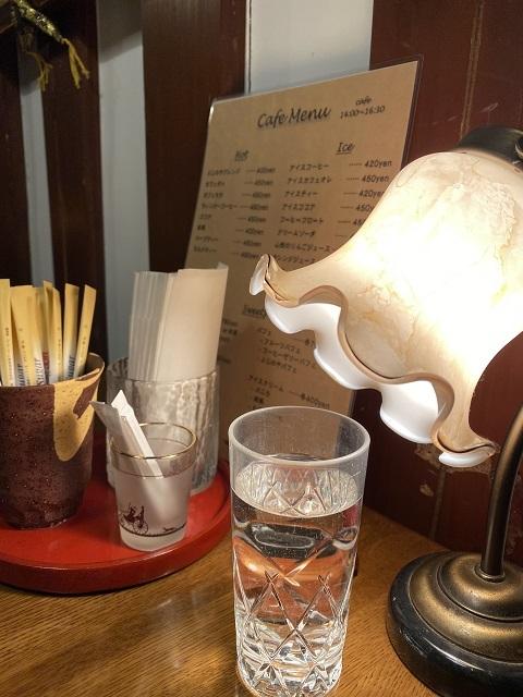 土蔵cafe FUJINOYA 照明