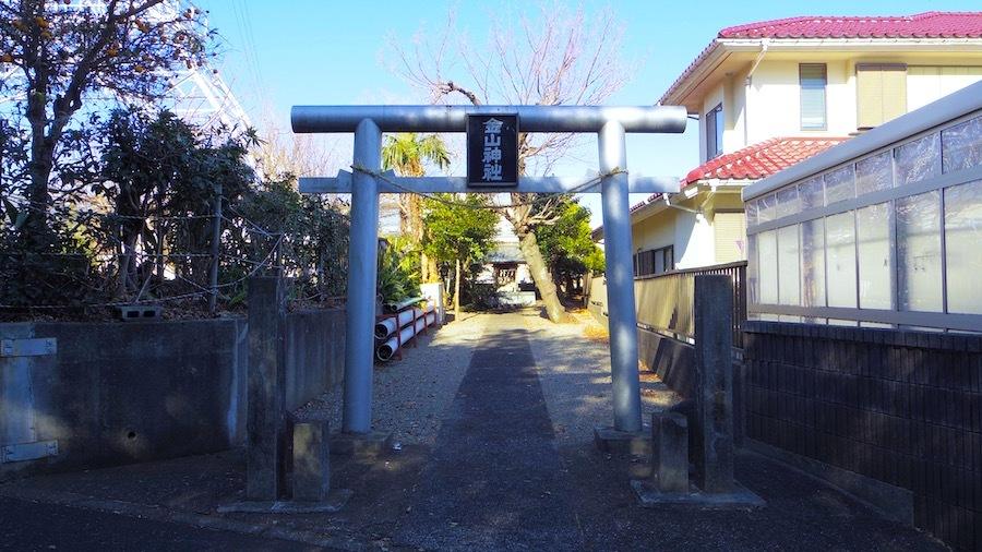 当麻谷原古墳群4号墳2(金山神社)