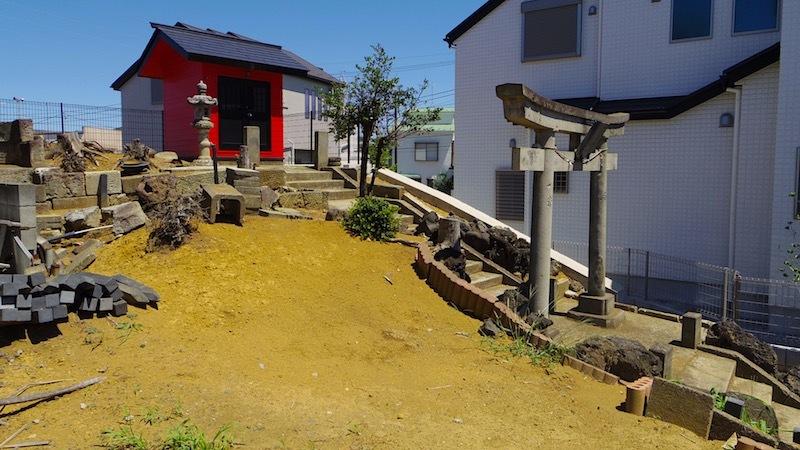 「田中の森と稲荷神社」3