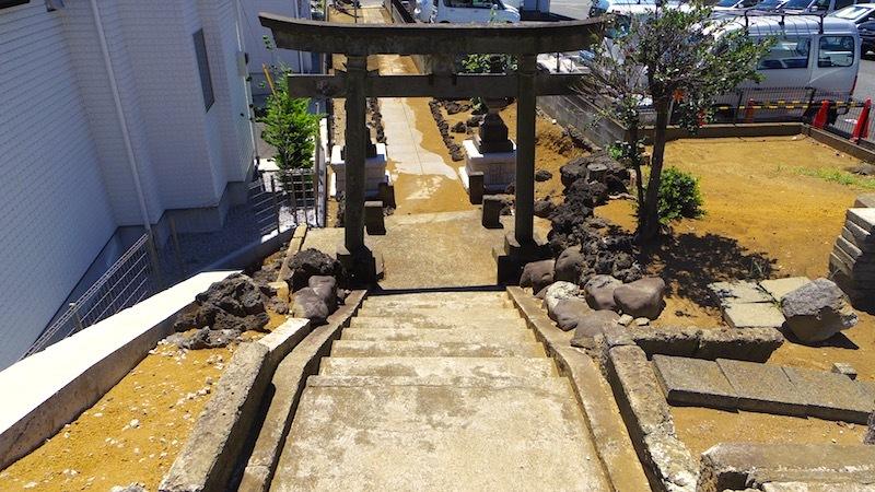「田中の森と稲荷神社」4