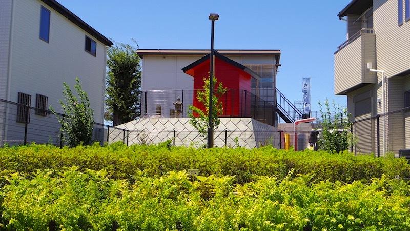 「田中の森と稲荷神社」5