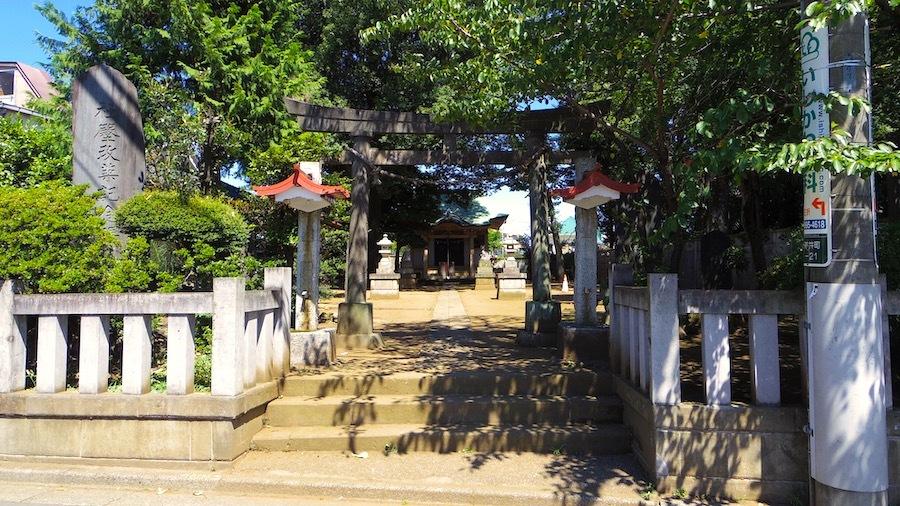 「和田神社の塚」1