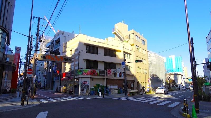 「一里塚と高札場跡」1
