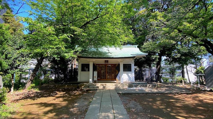 文京区「富士神社古墳」09