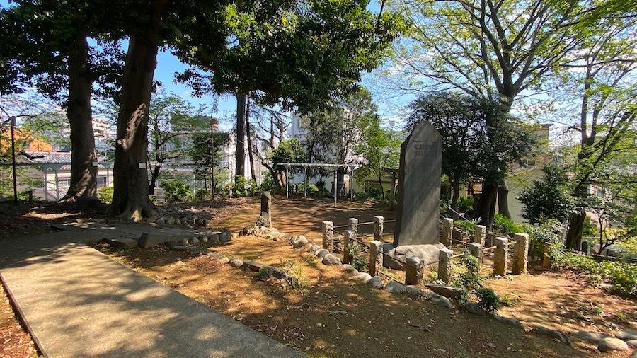 文京区「富士神社古墳」11
