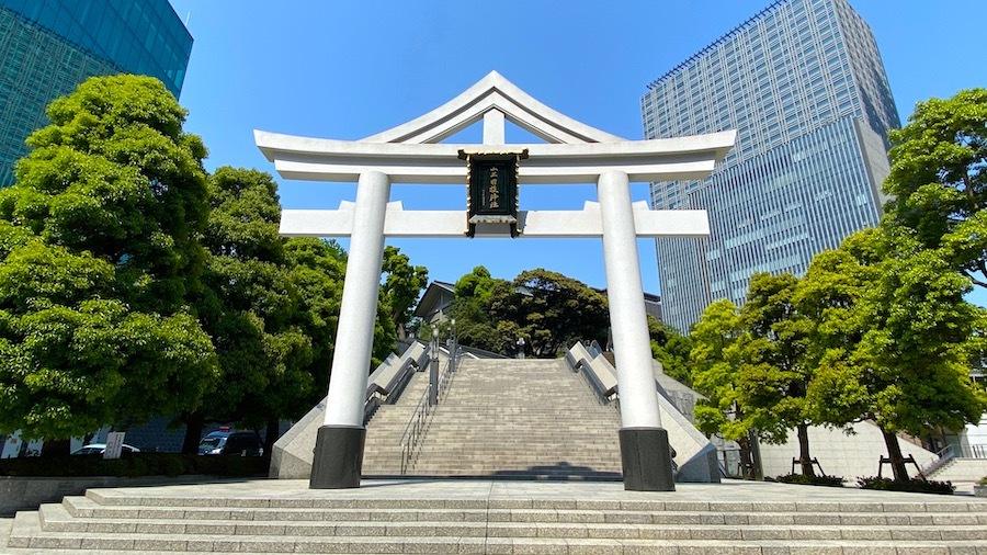 「日枝神社の前方後円墳」1