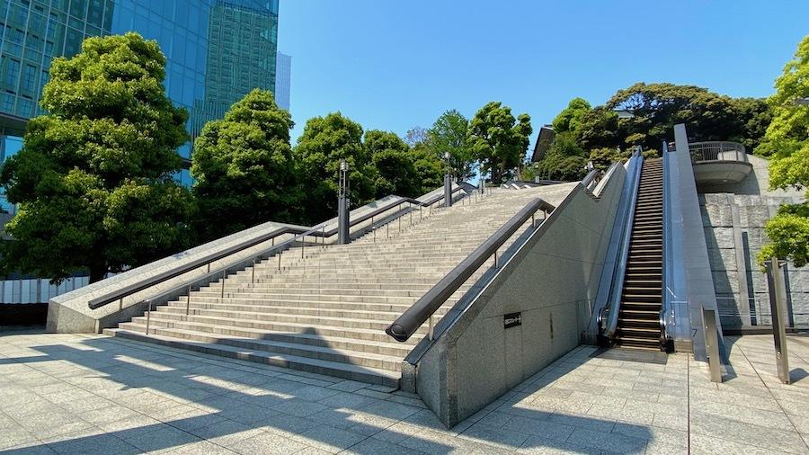 「日枝神社の前方後円墳」2