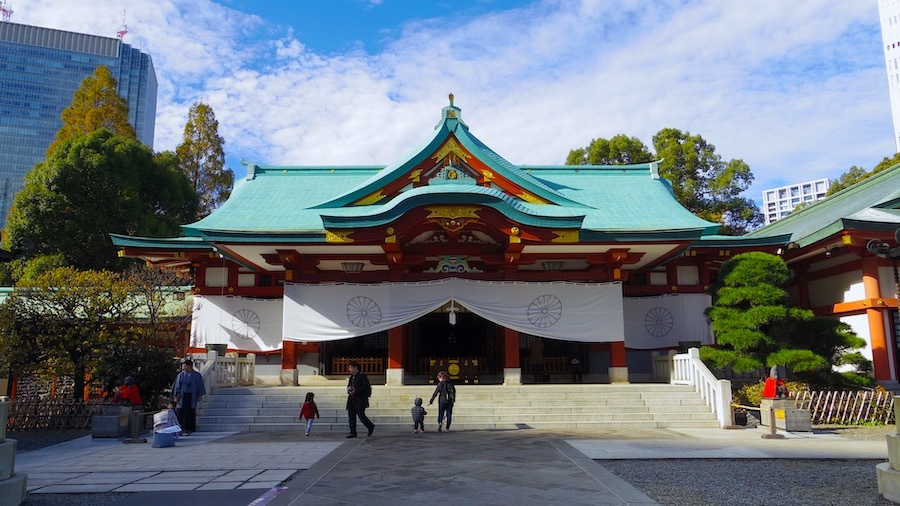 「日枝神社の前方後円墳」3
