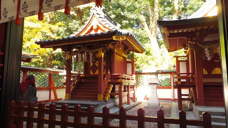 「日枝神社の前方後円墳」5
