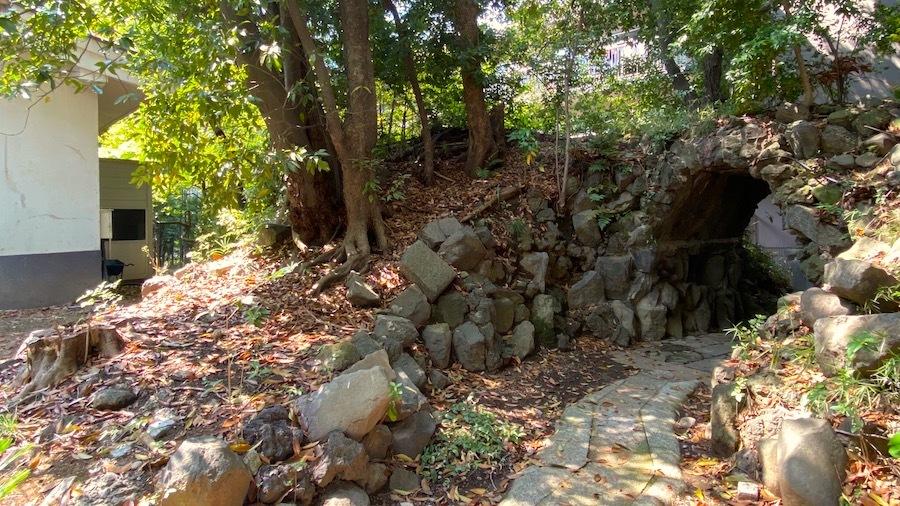 「日枝神社の前方後円墳」7