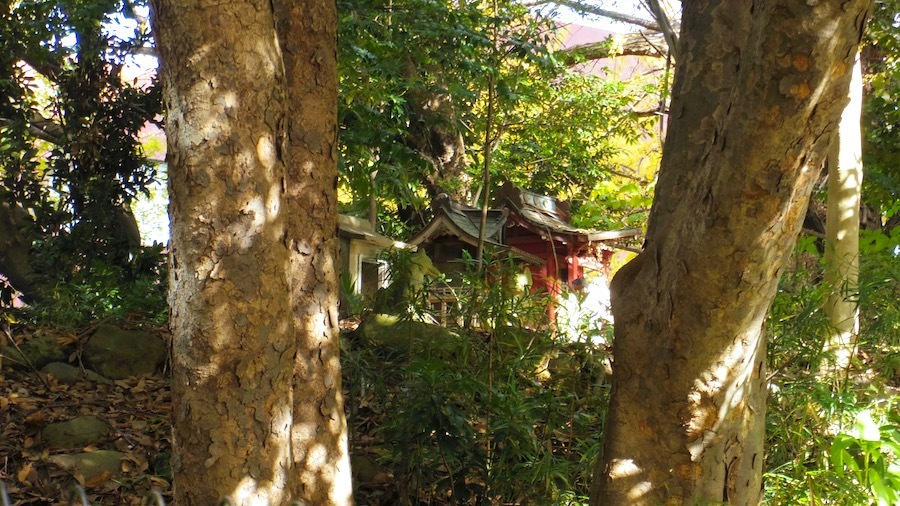 「日枝神社の前方後円墳」10