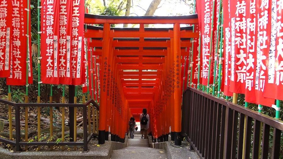 「日枝神社の前方後円墳」14