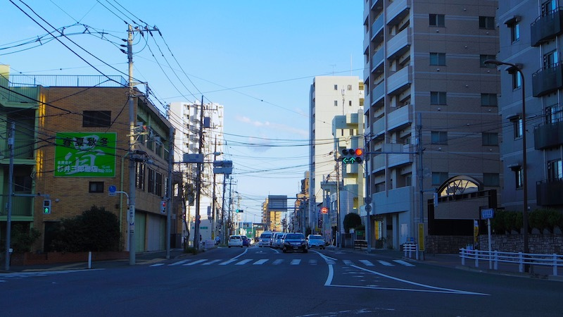 「三塚交差点」