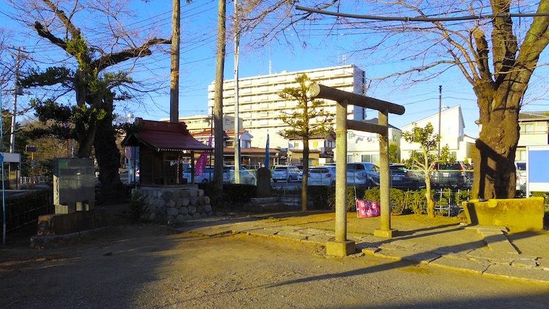 青梅市「石神社」