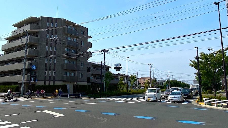 大鷲神社と「塚」交差点7