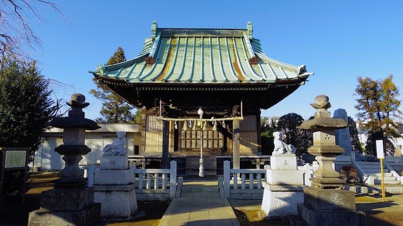 高津区「橘樹神社」2