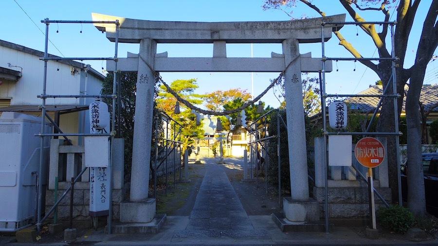 足立区「諏訪神社」1