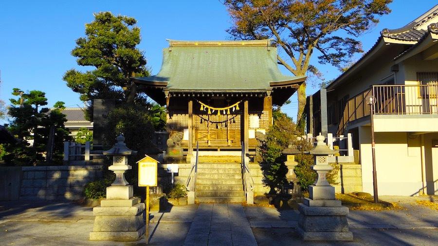 足立区「諏訪神社」2