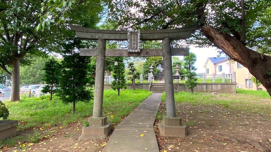 花畑浅間神社(花又富士・野良浅間)1