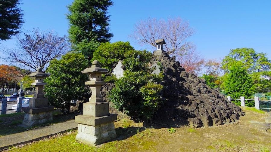 花畑浅間神社(花又富士・野良浅間)4