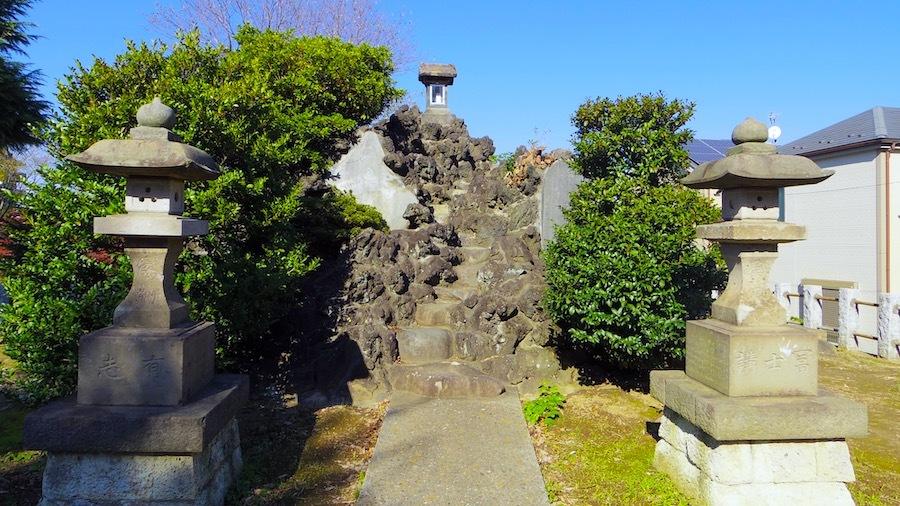 花畑浅間神社(花又富士・野良浅間)5