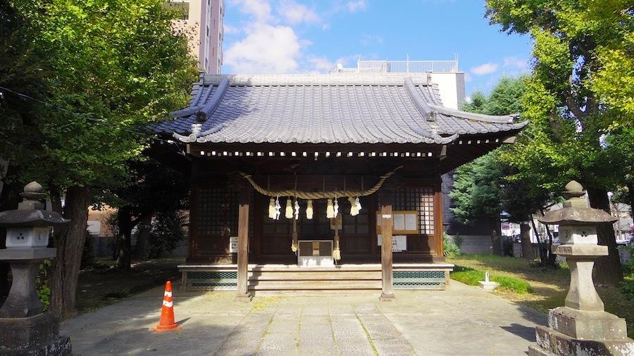 「竹塚神社」2