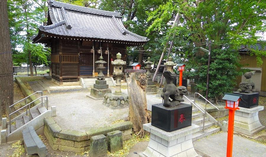 「淵の宮氷川神社(伊興氷川神社古墳)」3