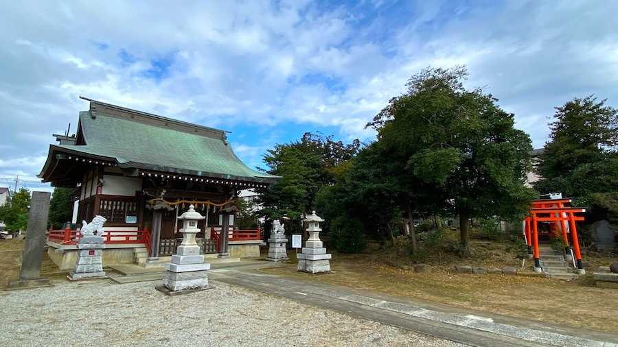 志木市「舘氷川神社」2