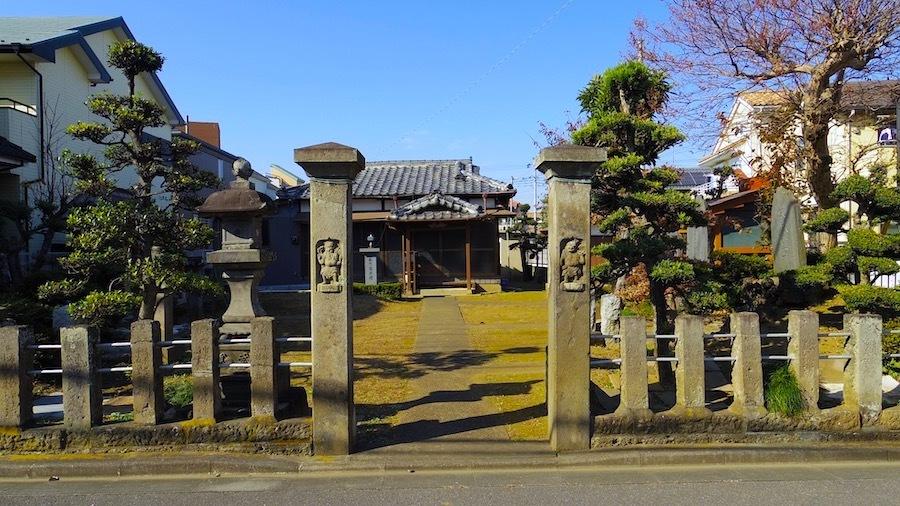 志木市 8 元白山神社とその周辺3