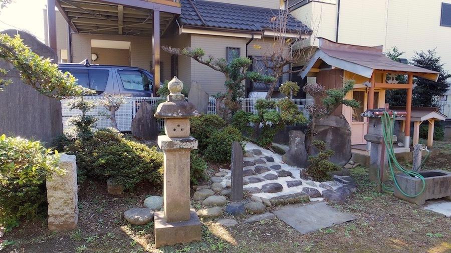 志木市 8 元白山神社とその周辺5