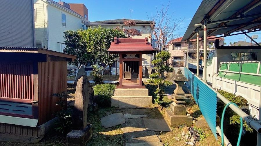 志木市 8 元白山神社とその周辺6