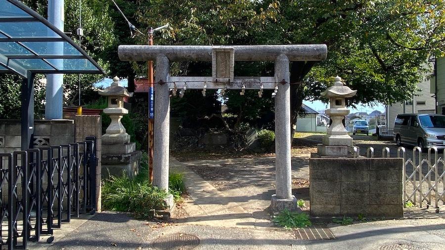 志木市「御嶽神社の古墳」1
