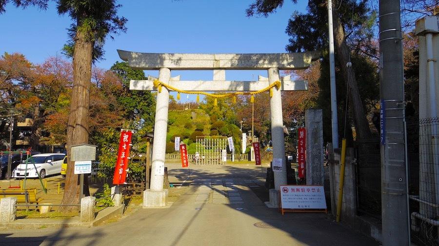 志木市「田子山富士塚」2-1