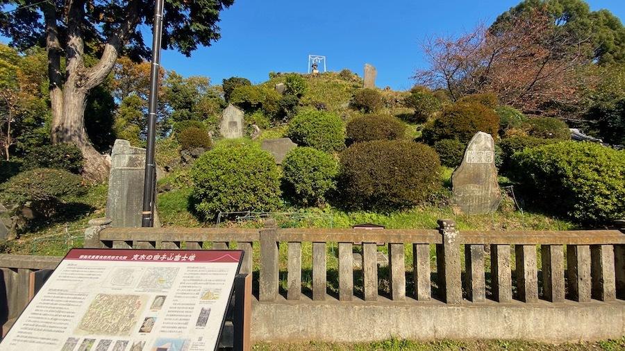 志木市「田子山富士塚」2-2