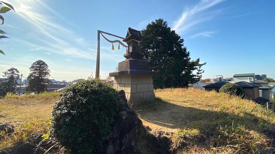 志木市「田子山富士塚」2-19