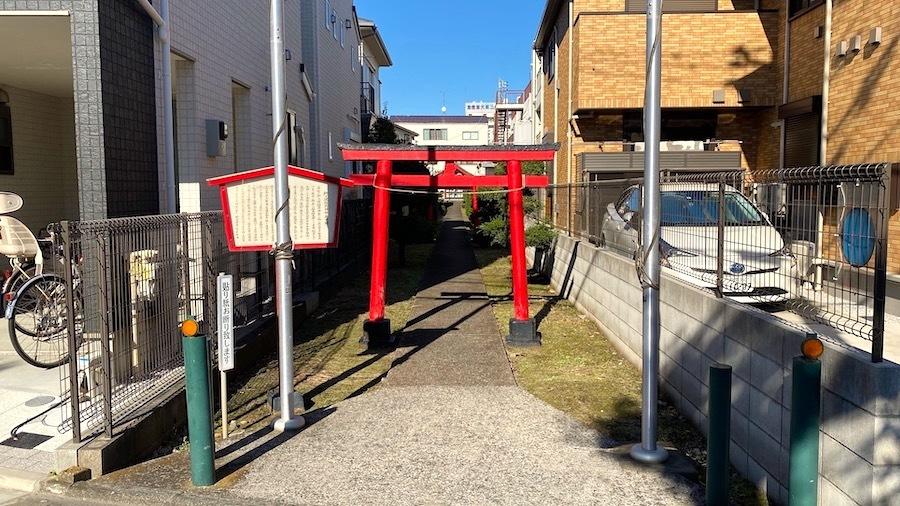 4「狛江百塚コンプリート2020」栁久保稲荷神社