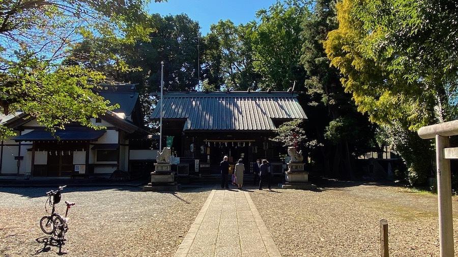 「狛江百塚コンプリート2020」12 腰掛塚古墳と伊豆美神社3